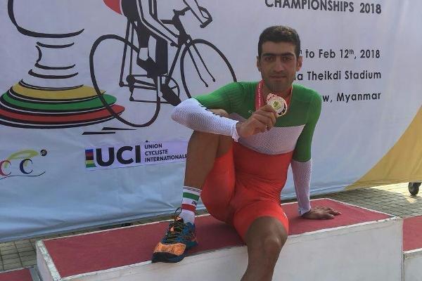 گودرزی اولین مدال ایران را گرفت