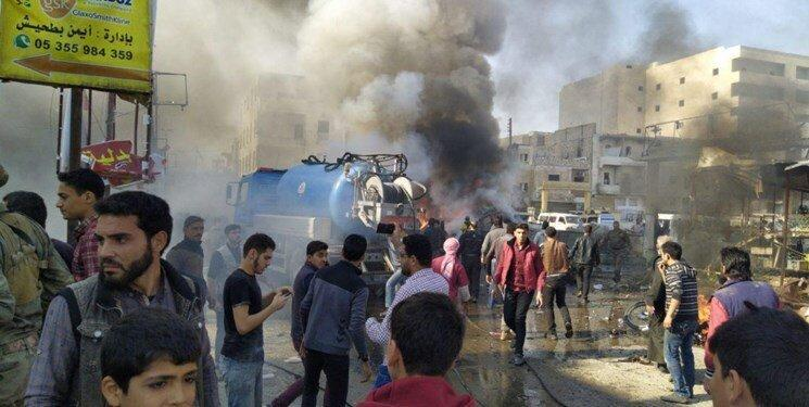 انفجار در الباب سوریه