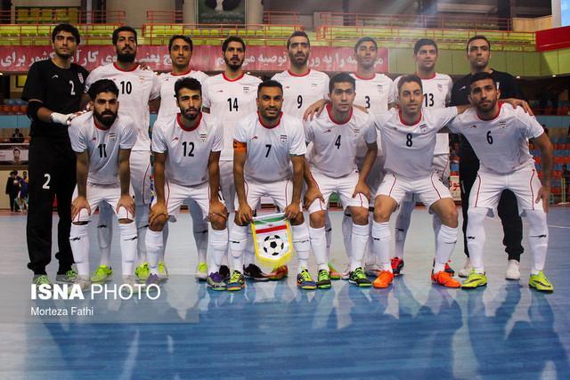 حریف تیم ملی فوتسال در نیمه نهایی تعیین شد