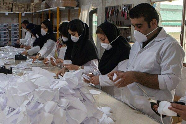تغییر خط تولید سه واحد صنعتی در قزوین به ماسک